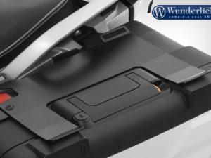 Soporte de equipaje Wunderlich sobre maleta original R 1200/1250 GS LC