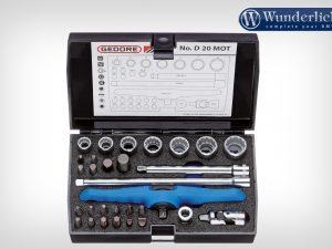"Kit de herramientas Gedore 1/4 ""30 piezas"