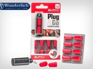 Protección auditiva Plug&Go de Alpine