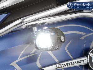 Faros LED adicionales MicroFlooter para barra de proteccion deposito