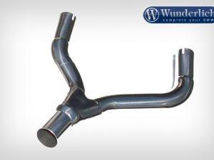 Y-tubo de acero inoxidable Homologación de tipo alemán
