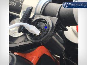 Toma de corriente USB de BAAS con interruptor de encendido y apagado