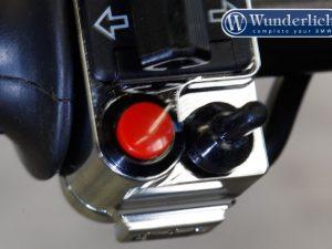 Ajuste del manillar Mini CNC Alu cromo