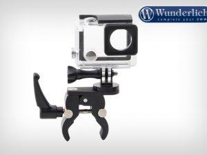 Soporte de cámara para tubos redondos