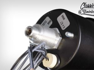 Velocímetro mecánico Ø60mm con luz indicadora