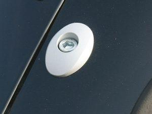 Embellecedores de aluminio de la tapa del depósito