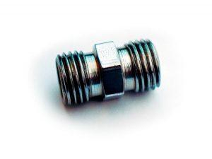 Doble conexión para el enfriador de aceite BMW boxer de dos válvulas