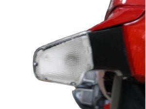 Clear Flash indicator lense rear | set