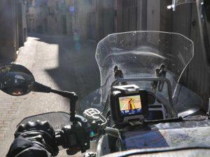 "Soportepara GPS  ""ExtremHalter""  para Tom Tom rider II & Urban"