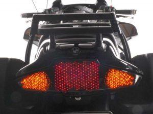 Unidad de luz trasera LED con certificado E