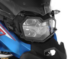Protectores de faros plegables »CLEAR» de Wunderlich para F 850 GS Adv