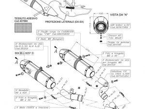 SILENCIOSO SBK LV ONE 2 SLIP-ONS CARB. HOMOL EVOL. II KTM 990 990 SMIE 990 SM RIE SUPERMOTO