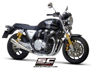 HONDACB1100 (2017 – 2020) – RS – EX<br>Par de silenciadores Conic 70'S, acero inoxidable sin manchas