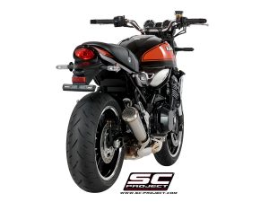 KAWASAKI Z 900 RS (2018 – 2021) – Cafe<br>Silenciador Conic 70'S, acero inoxidable