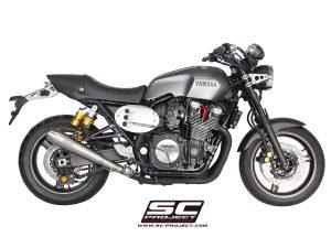 YAMAHAXJR 1300 (2015 – 2016) – RACER<br>Silenciador Conico, acero cepillado sin manchas